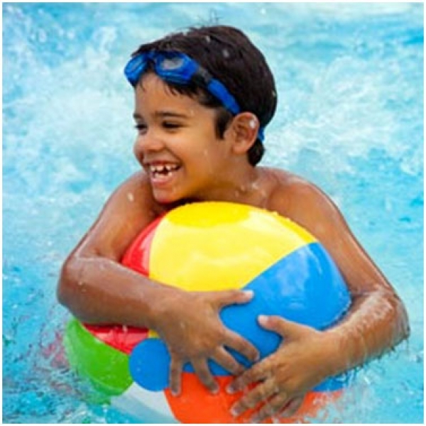 Swimming Pool Games for Young Children