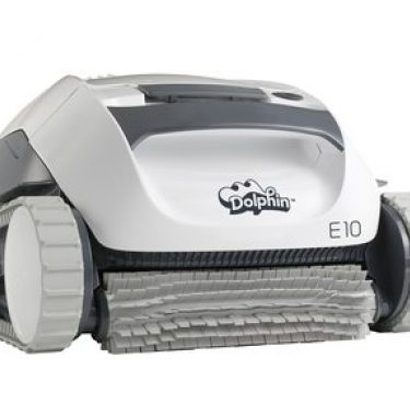 back view Dolphin E10 Robotic Cleaner