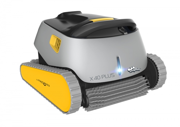 Side view Dolphin X40 Plus Robotic Cleaner