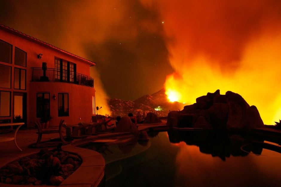 Fires, Dust and Your Pool